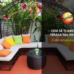 5 idei pentru a amenaja terasa sau balconul tau