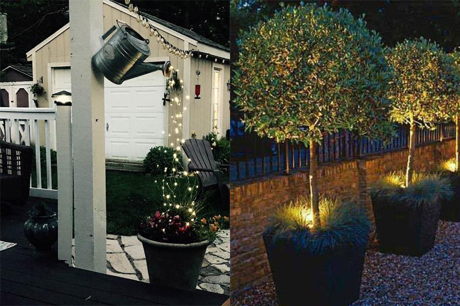 5 idei pentru a amenaja gradina - iluminatul