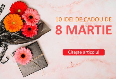 10 idei de cadou de 8 martie